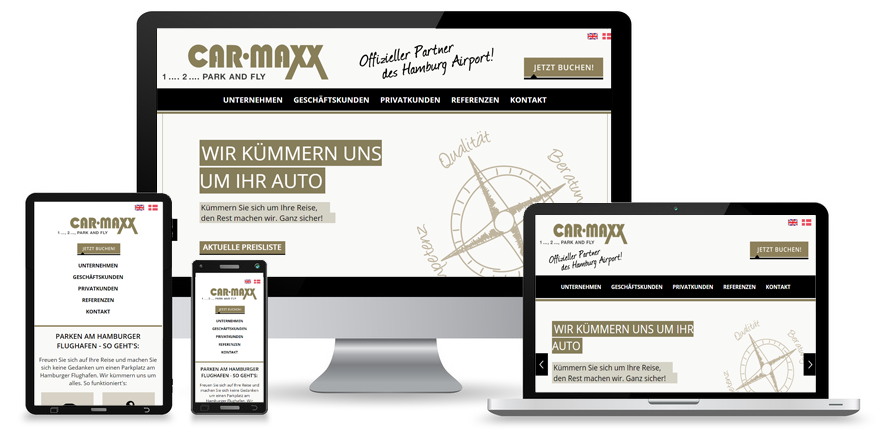 CarMaxx - Responsive Website